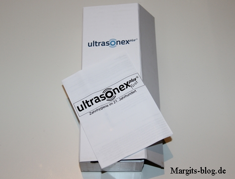 Ultrasonex plus first Zahnbürste