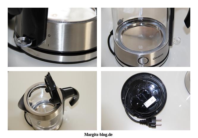 Mein neuer Wasserkocher von Klarstein im Test  Margits  ~ Wasserkocher Natürlich Entkalken