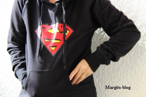 Spreadshirt Supermann Pulli