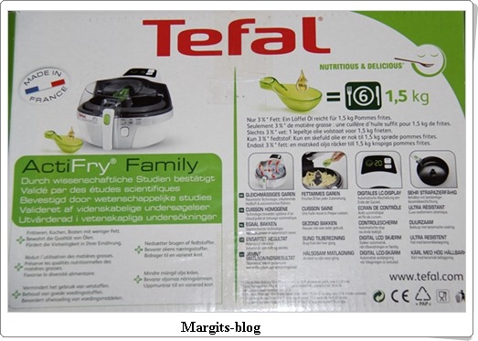 Tefal Heißluft-Fritteuse Actifry Family