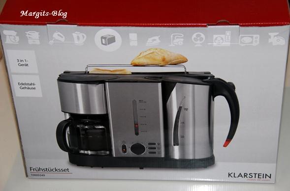 toaster kaffeemaschine wasserkocher in einem gerät