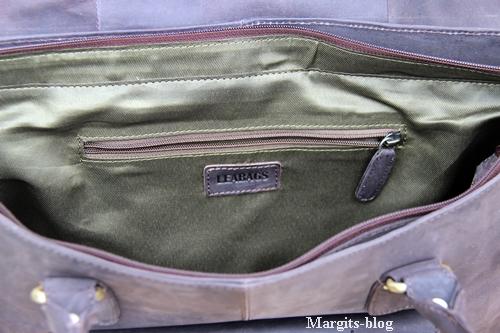 Leabags Handtasche Jersey Stauraum